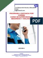 Leccion 4 Supervision de Seguridad y Vigilancia