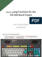 Find Bonds on Bloomberg