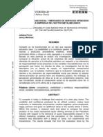 RESPONSABILIDAD SOCIAL Y MERCADEO DE SERVICIOS OFRECIDOS POR LAS EMPRESAS DEL SECTOR METALMECÁNICO