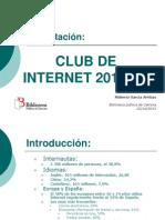 121003 Presentación de CLUB DE INTERNET 2012_2013