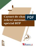 m013-Carnet Chantier Releve Mensuel Btp Extrait