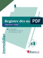 M028-Registre Des Mandats-transactions EXTRAIT