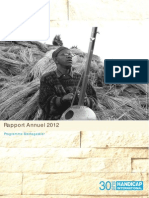 Rapport Annuel 2012 – Programme Madagascar (Handicap International)
