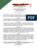 Reglamento Evaluación documento enero 2012