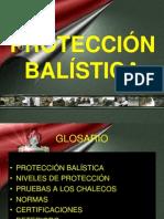 PRESENTACIÓN DE PROTECCIÓN BALÍSTICA