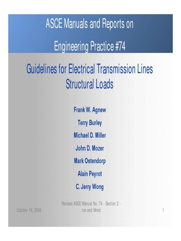 asce practice 74 rev 2006 structural load reliability engineering rh scribd com asce manual 70 pdf ASCE Manual Civil Engineer