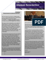 Fall Alumni Newsletter