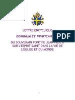 Dominum et Vivificantem - franáais