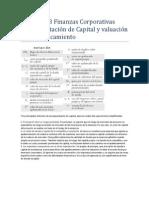 Capítulo 18 Finanzas Corporativas
