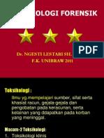 TOKSIKOLOGI FORENSIK 2011.ppt