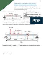 Vigas - Pendientes y deflexiones por integración.pdf