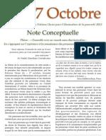 Note Conceptuelle 2013