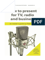 How to Present for Tv,