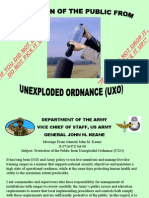 Unexploded Ordnance Safety