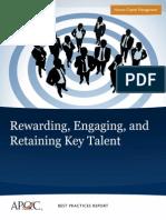 Rewarding, Retaining Talent
