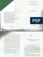 WEBER, Max. Fundamentos da Organizaçao Burocratica
