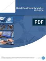 Global Cloud Security Market 2013-2018