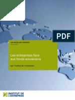 Les entreprises face aux fonds souverains