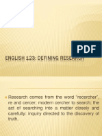 Guide on Making Research Papers