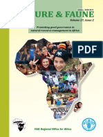 Nature & Faune Enhancing natural resources management for food security in Africa Volume 27, Issue 2