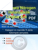 Senyawa Nitrogen Heterosiklik Lingkar Empat