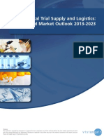 Clinical Trial Supply and Logistics_ World Market Outlook 2013-2023