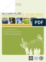 ACTION PLAN OF THE GLOBAL STRATEGY TO IMPROVE AGRICULTURAL AND RURAL STATISTICS For Food Security, Sustainable Agriculture and Rural Development (FAO, World Bank, UN Statistical Commission – 2012)