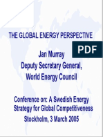 A Swedish Energy Strategy for Global