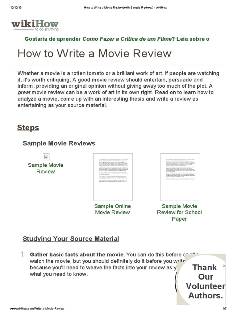 how to write book review sample How to write a book review writing a book review is not just about summarizing it's also an opportunity for you to present a critical discussion of the book.