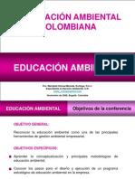 LEGISLACIÓN EN MATERIA DE EDUCACIÓN AMBIENTAL -COLOMBIA-