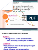 KULIAH PENGANTAR-BIOKIMIA