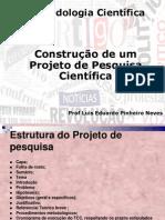 CONSTRUÇÃO DE UMA PESQUISA