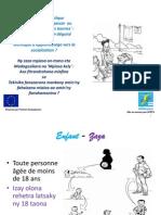 Le travail domestique des enfants à Madagascar ou 'phénomène de petites bonnes'