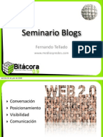Seminario Blogs Bitacora 0.9
