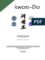 Dispensa Tecnica Taekwondo