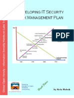 Developing IT Security Risk Management Plan