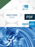 2mag Magnetic Stirrer Catalogue 2012 2013