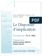 12- le dispositif d'implication