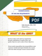 Bahan Kuliah MM - Pengantar ISO 9001 Quality Manajemen Sistem