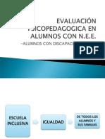 Evaluación Psicopedagógica y los ACNEEs - Veronica Soudant.pdf