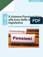 Il Sistema Pensionistico AllaLuceDelleNovitàLegislative