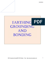 Earthing, Grounding and Bonding