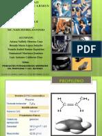 Petroquimica Propilenos, Butenos y Isobutileno