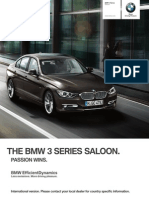 BMW 3series Sedan Catalogue