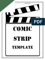 comic book report template