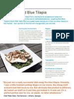 Laughing Bird Blue Tilapia Info Sheet