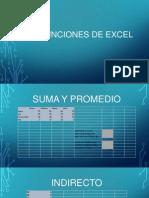 Funciones de Excel EXPOSICION