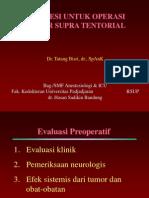 Anestesi Untuk Operasi Tumor Supra Tentorial