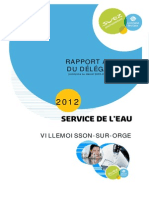 Rapport Lyonnaise 2012 Villemoisson Sur Orge