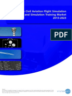 The Civil Aviation Flight Simulation and Simulation Training Market 2013-2023